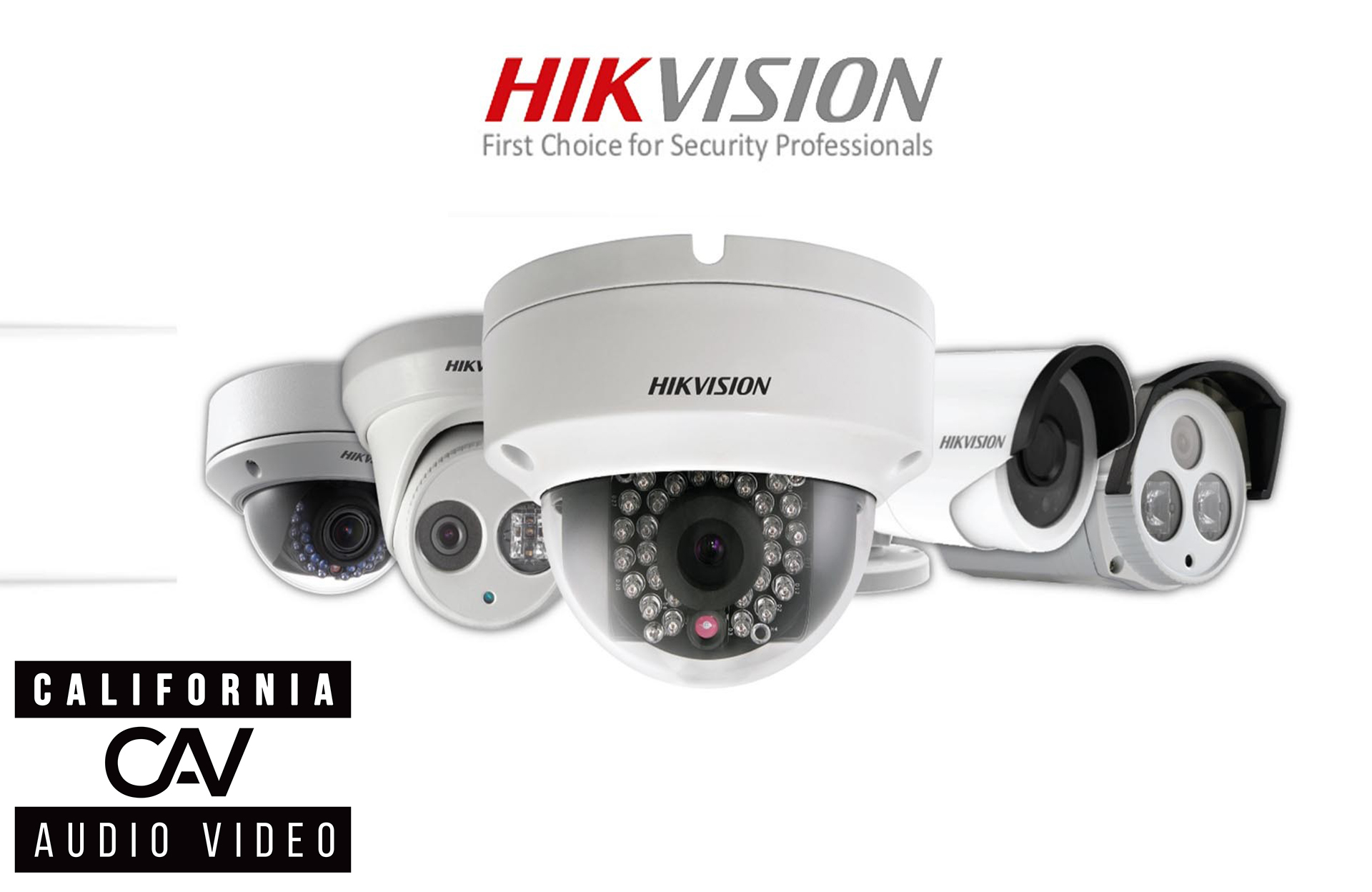 Hikvision IP 4-64 Camera Systems